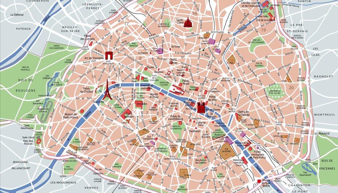 Mapas de Paris