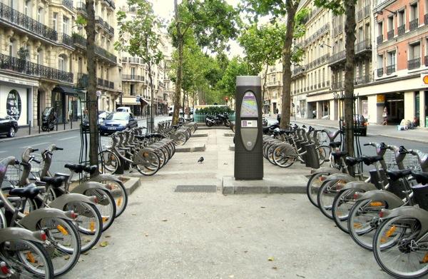 VÉLIB – Aluguel de Bicicletas